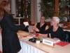 Turnierbüro mit Richard und Gisela Raschke