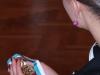 Streicheleinheiten für eine Goldmedaille